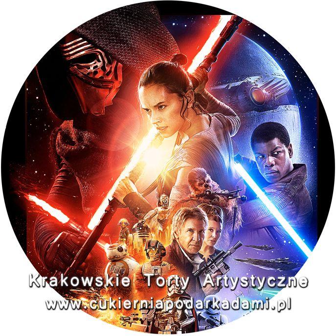 088. Fototort Gwiezdne wojny. Star Wars photocake.