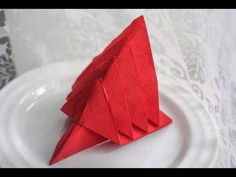 39 parasta kuvaa: Napkin folding - Lautasliinojen ... - photo#14