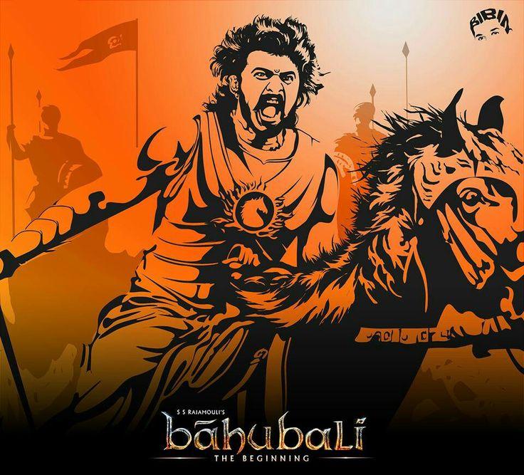 Baahubali prabhas art