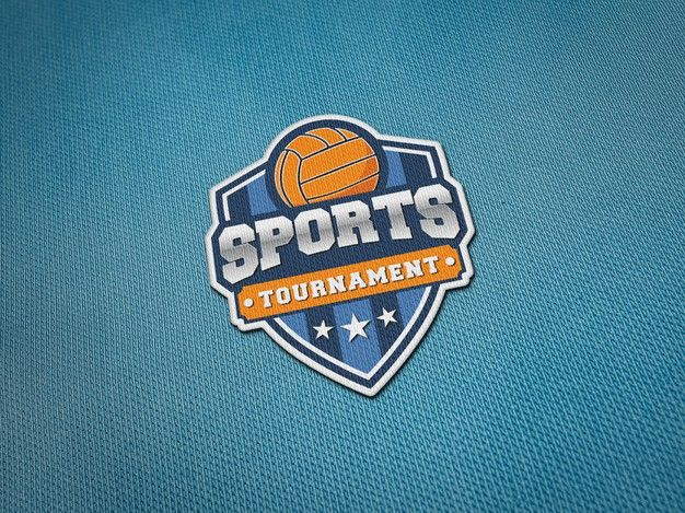 Embroidery Logo Patch Mockup On Jersey Fabric Embroidery Logo Patch Logo Jersey Fabric