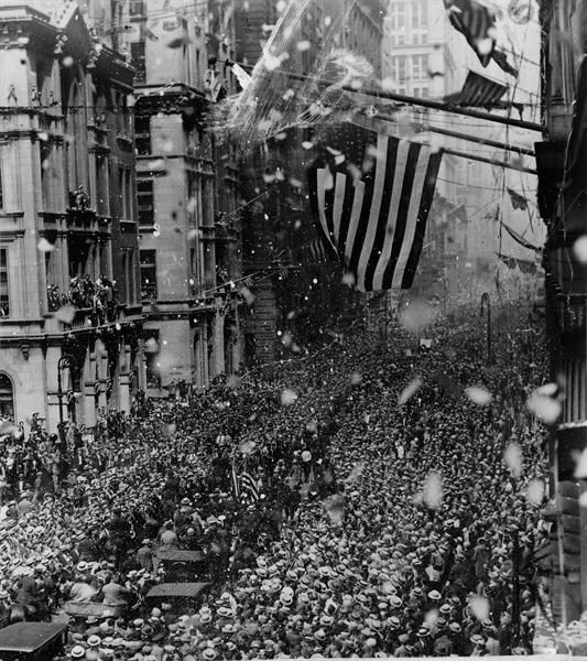 On August 6, 1926, Gertrude Ederle becomes the first woman to swim across the English Channel, prompting the first ticker-tape parade in New York City.