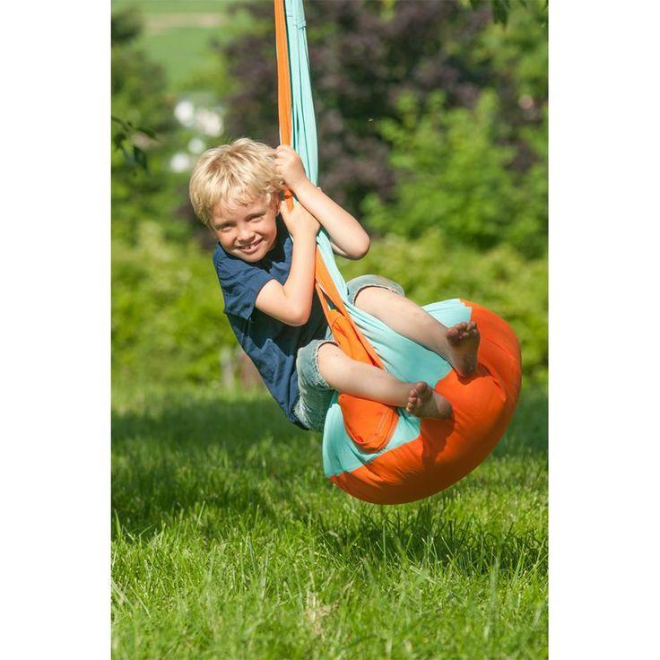 Hanging Crow's Nest - Outdoor Hammock Swing