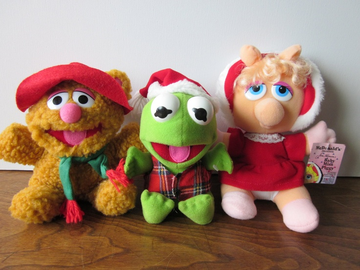 Muppets Plush Toys From Mcdonalds Blast From The Past