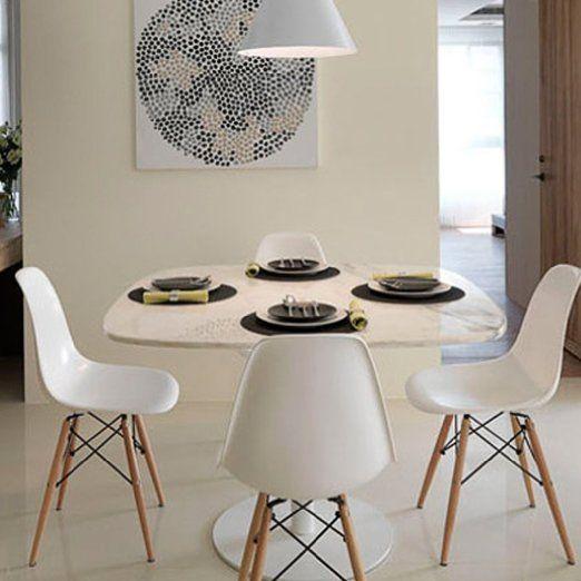 97 best Charles Eames DSW Chair - Einrichtungsideen images on - Esszimmer Modern Weiss
