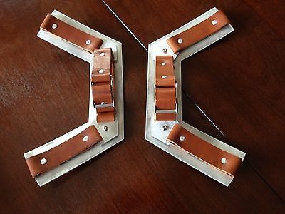 Metal brackets/handles for Captain America Shield photo                                                                                                                                                                                 More