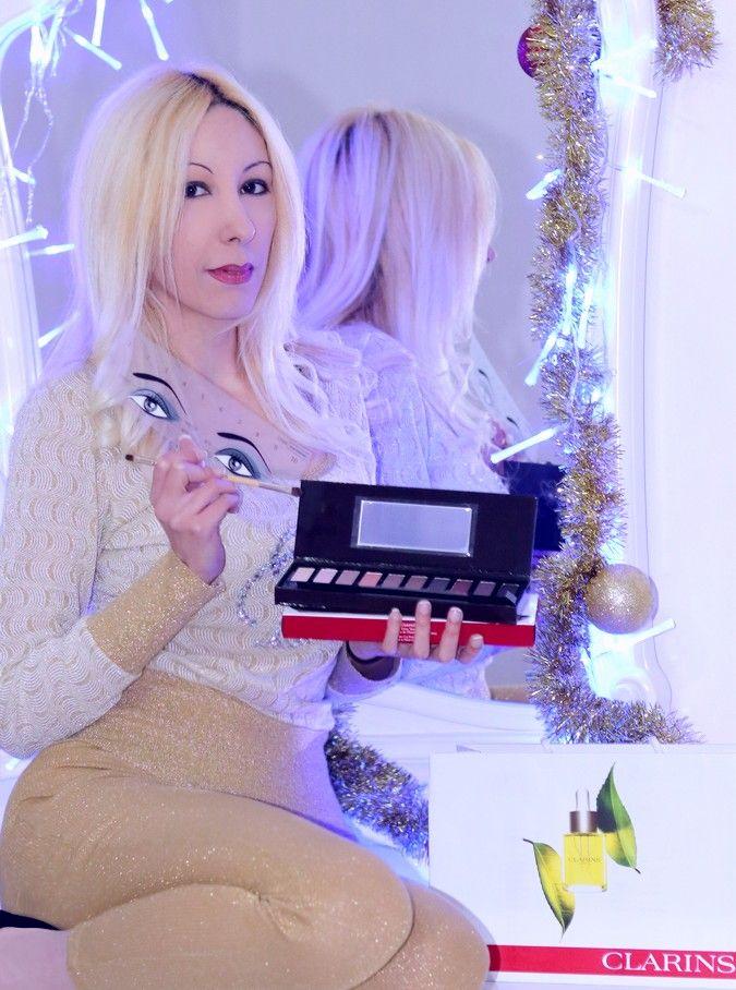 Clarins e Pur Project – Il makeup per le feste