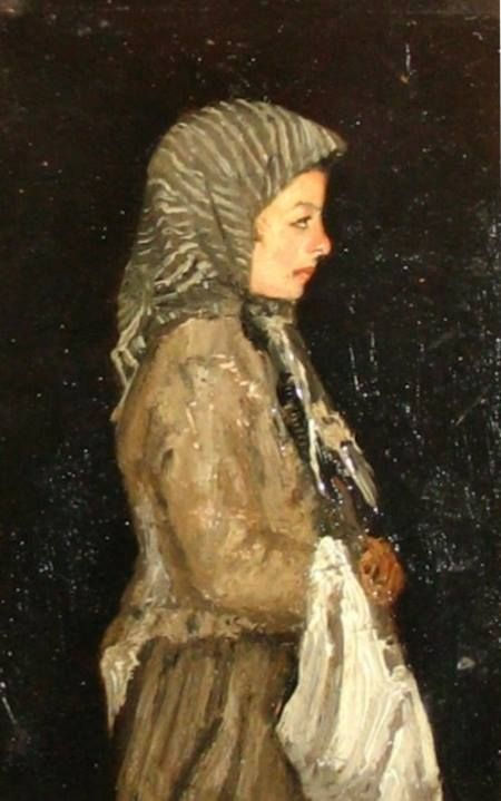 Ion Andreescu  Portret de fetita