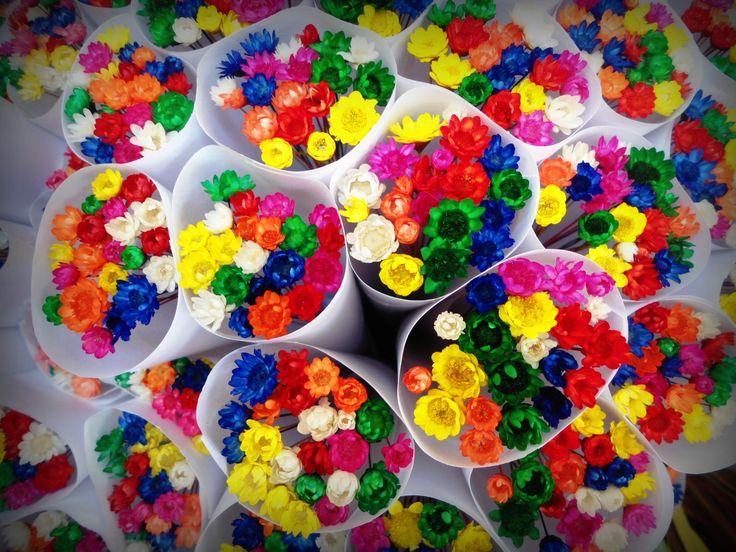 Little bouquet of flowers - La Rambla - Barcelona
