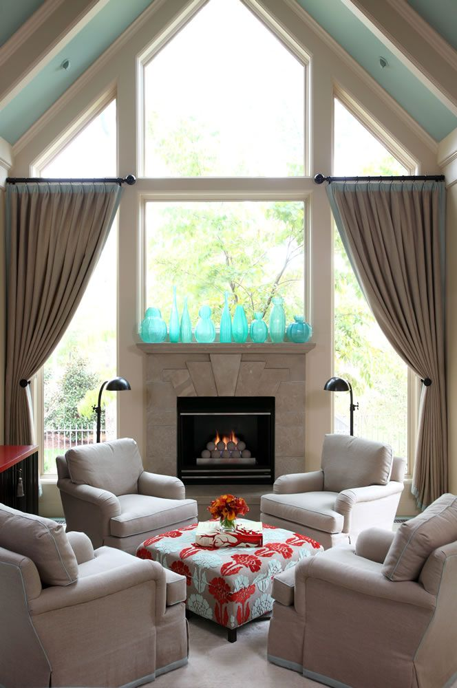 Hearth Room With 4 Chairs Design Tobi Fairley