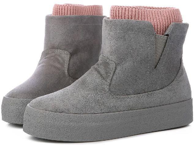 Зимние сапоги botas mujer 2017 Новые женские ботинки модные сапоги на высоком каблуке ботильоны на платформе на шнуровке Высокий каблук весенне осенняя обувь для купить на AliExpress
