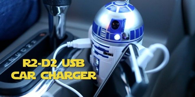 Tech: Awesome Interactive R2D2 USB Charger | G33k-HQ