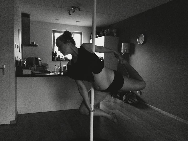 Pole ballerina variation