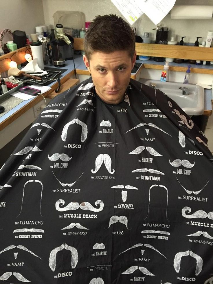 Jensen tweeted: Jensen Ackles ‏@JensenAckles Oct 30 In preparation for #Movember I'll be sporting this awesome cape. Don't be jealous. #WishTheyLetMeSportAStache