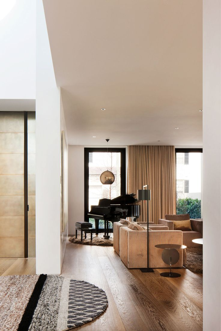 Victorian house colorful interiors for a classy exterior south yarra - South Yarra Residence By Rob Mills Architects