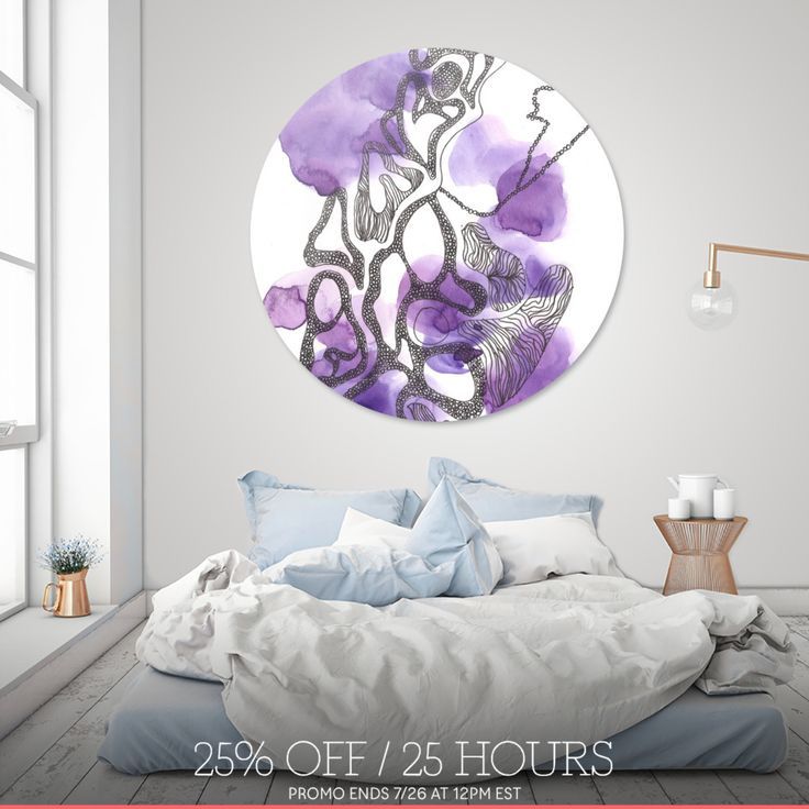 Discover «170725 Abstract Watercolour 16», Limited Edition Disk Print by valourine - From $99 - Curioos
