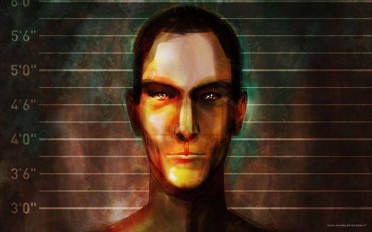 "#Character per Graphic novel ""Agente Patogeno"". #face #graphic #novel #virus #painting #comics #graphicnovel #drawing #comic #illustrator #book #hometown #panorama #corelpainter #painter #Wacom"