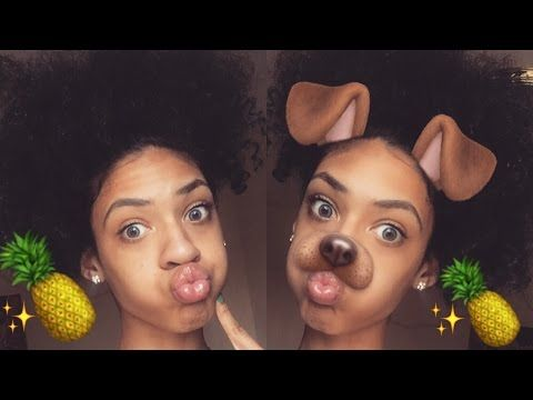 How To Do High Curly Ponytail (Pineapple Style) - YouTube