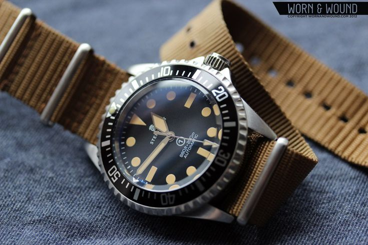My gorgeous new watch, Steinhart Ocean Vintage Military