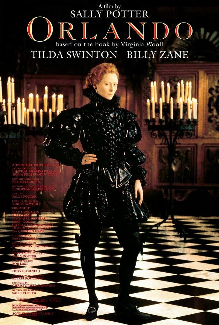 """Reanudo mi serie dedicada a la Moda en el Cine, con la película """"Orlando"""", dirigida en 1992 por Sally Potter, con diseño de vestuario a cargo de la oscarizada Sandy Powell, y la actriz Tilda Swinton como protagonista."""