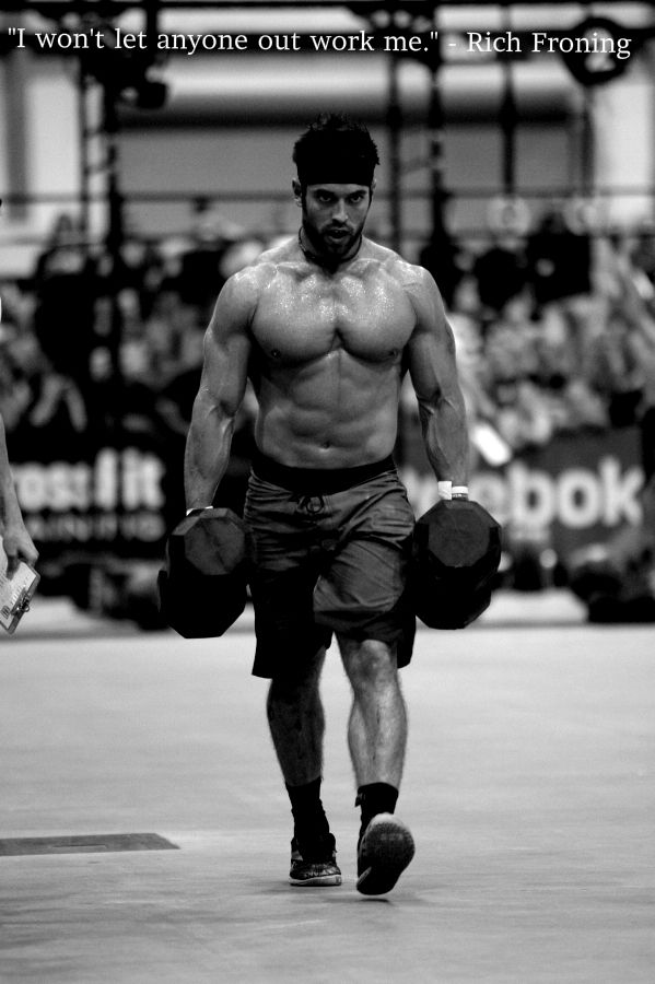 Rich Froning 2012 south central regionals
