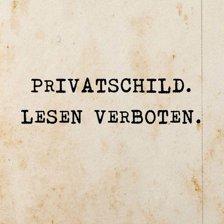 Privatschild
