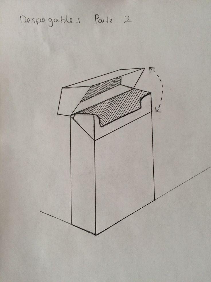 Desplegables Parte 2- Caja de Cigarros (pluma)