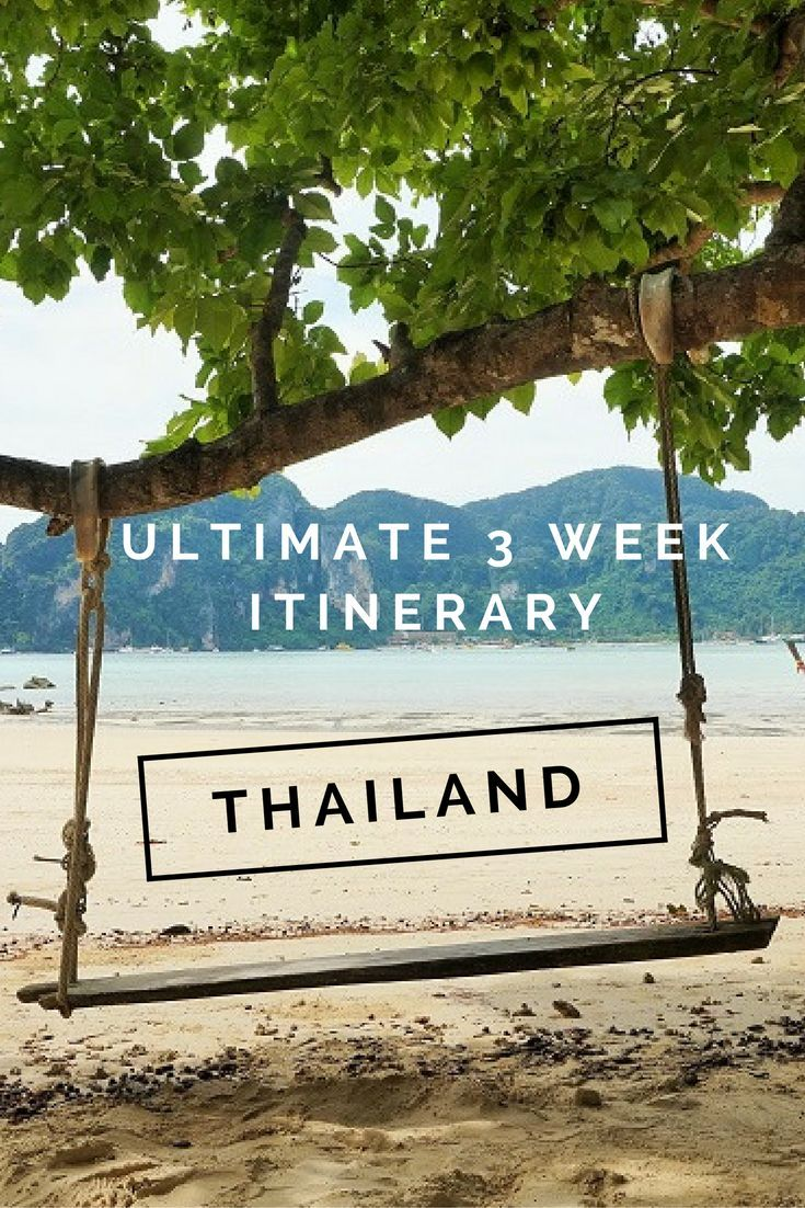 Our ultimate 3-week itinerary of #thailand - making the most out of your visit!