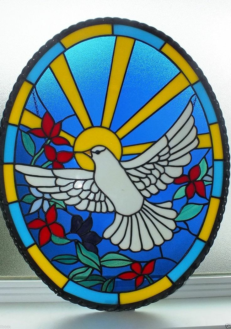 17 Best Images About Stain Glass Birds Doves On
