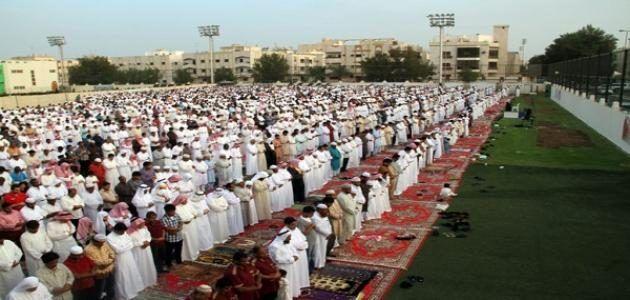 موعد عيد الفطر 2018 و رسائل مسجات صور مواقيت صلاة العيد 1439 Eid Al Fitr Islam Ramadan Unity