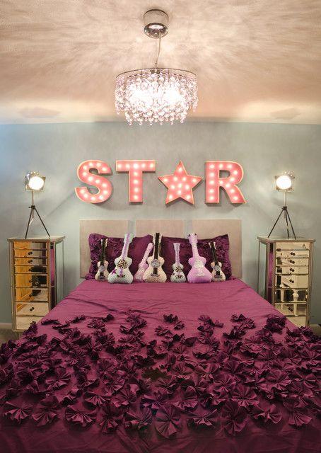 Nice Tween Girl Bedroom Ideas Must Haves: Appealing Wall Decorating Idea Applied In Tween Girl Bedroom Ideas With Best Crysal Lamp Design Idea ~ SFXit Design Bedroom Inspiration