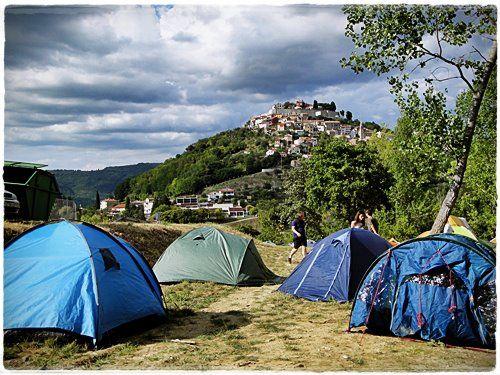 film festival camp @ Motovun, #Croatia