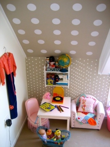 Cute idea for the nook and cranny spaces.