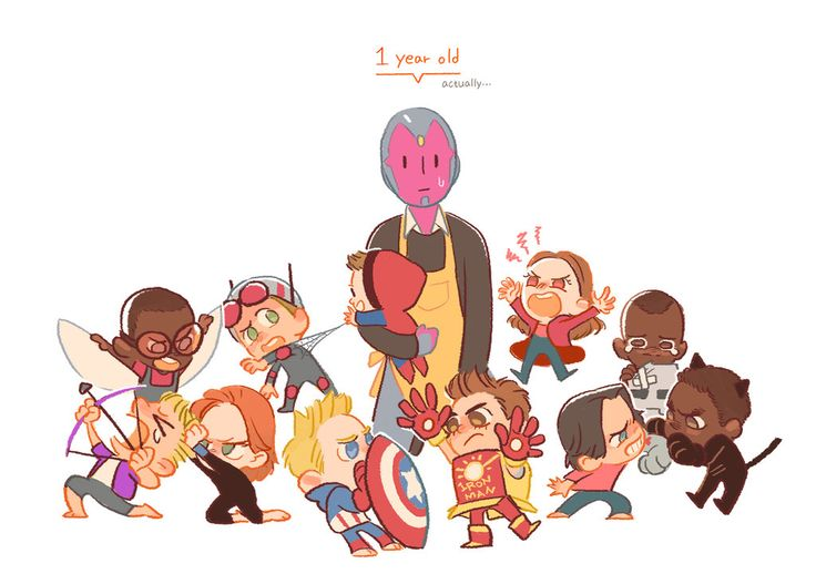It's a WAR!!! by Hallpen on DeviantArt. Civil war characters as toddlers