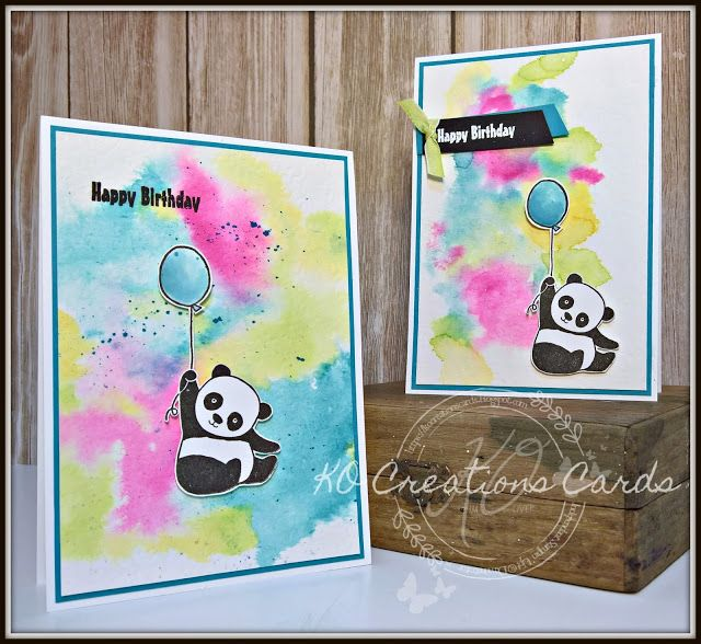 KOCreations Stampin' Up! Blog: Party Pandas - Enjoy The Little Things In Life Design Team Blog Hop