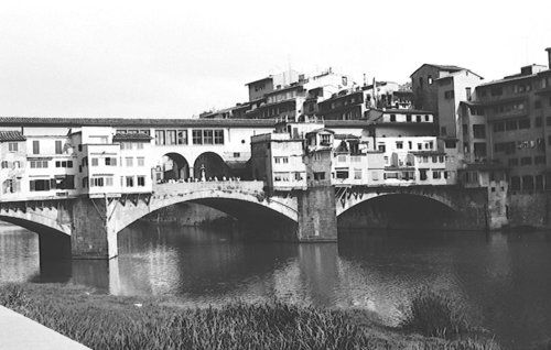 The Ponte Vecchio In 1972 - Florence Journal