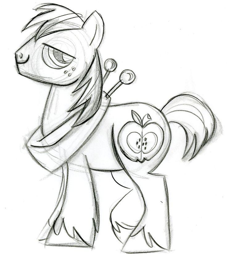 Картинки для срисовки карандашом прикольные пони, про вечер юмором