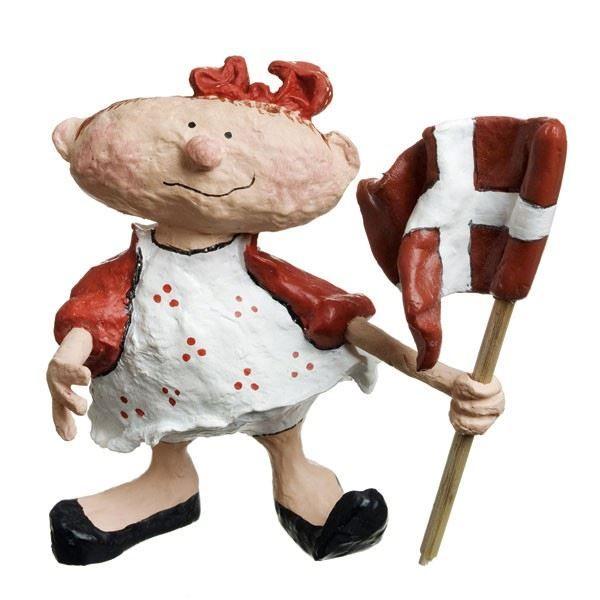 Medusa-Copenhagen - Celebration Snuffel pige med flag