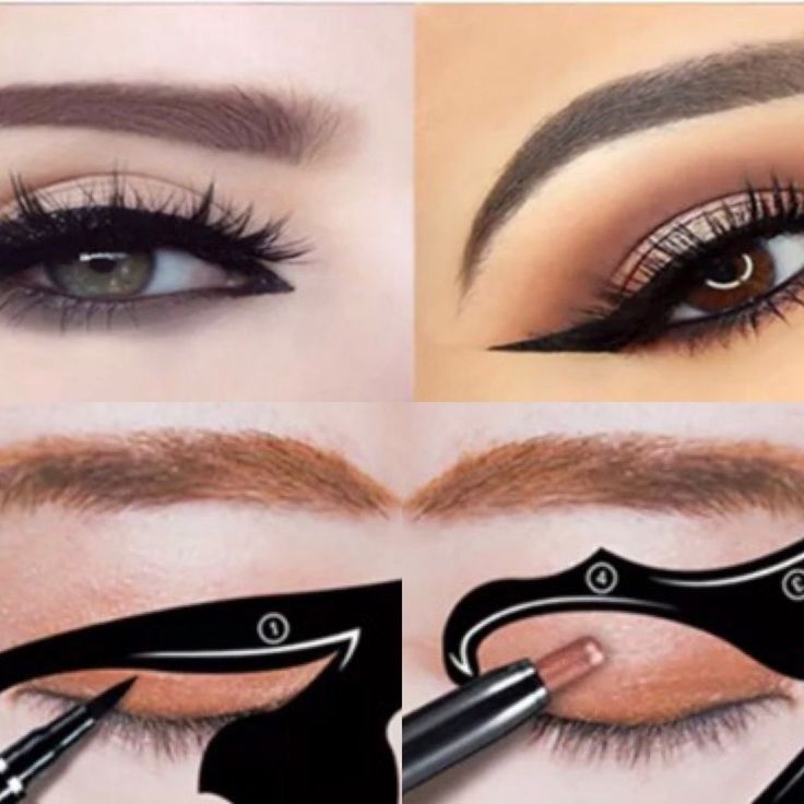 2pc Cat Eye Line Eyeliner Stencil Makeup Tool Christmas gifts gifts for her | Health & Beauty, Makeup, Eyes | eBay!