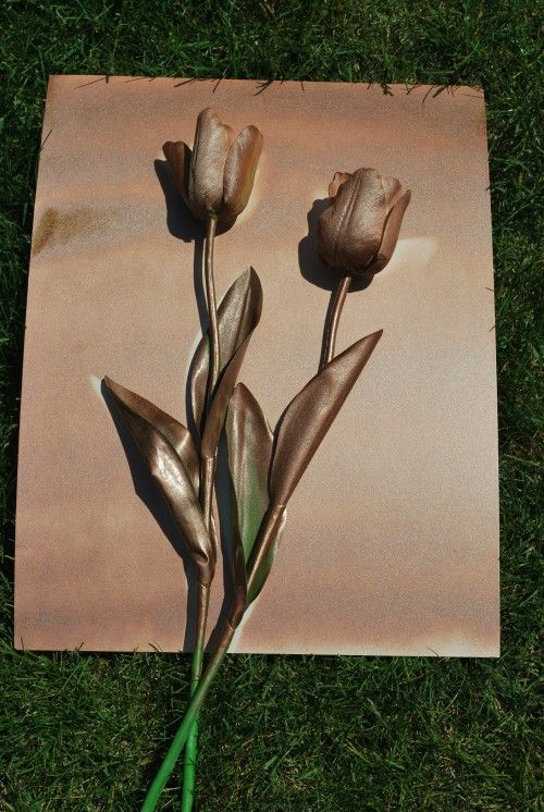 Peindre un tableau décoratif en seulement 15 minutes