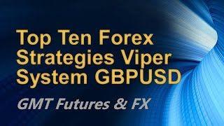 Top Ten Forex Strategies Viper System GBPUSD [Tags: FOREX STRATEGIES Forex GBP/USD Strategies System Viper]