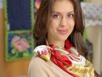 (434) Как красиво повязать платок на голову - видео - Леди@Someone Else.ru   Леди@Someone Else.Ru