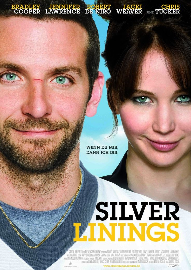 Film that everyone should see it! Silver lining, with the adorable Jennifer Lawrence and charming Bradley Cooper! :))