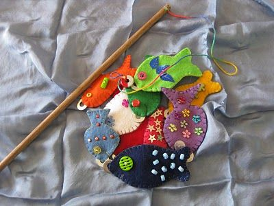 Counting Felt Fish Toddler Activity