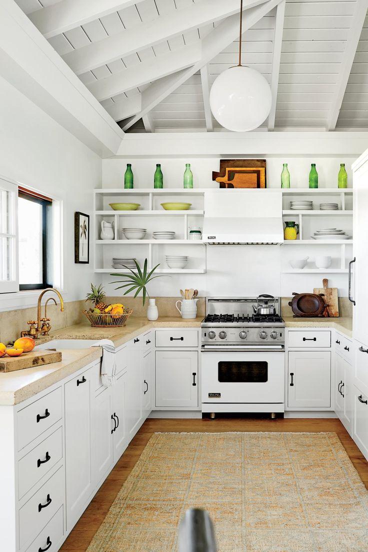Best Kitchen Gallery: 387 Best Coastal Kitchens Images On Pinterest of White Beach Kitchen Design on rachelxblog.com