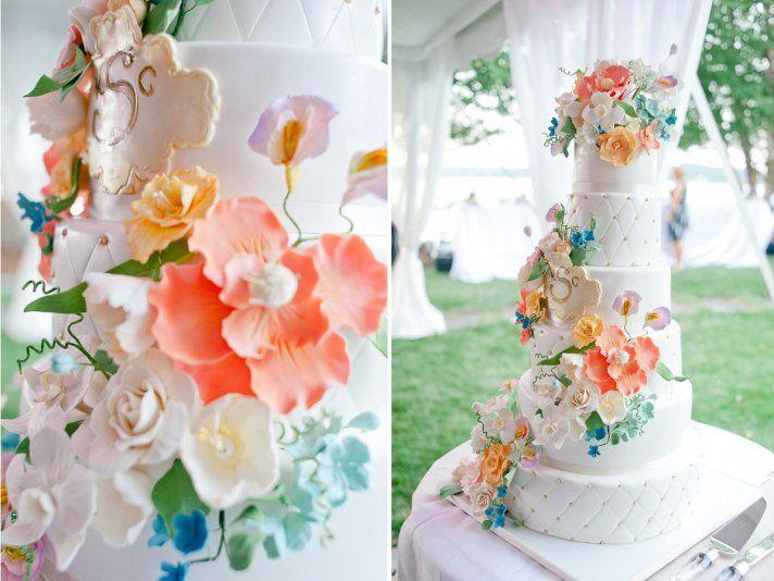 Wedding Color Inspiration Summer Pastels Modern Chevron Onewed