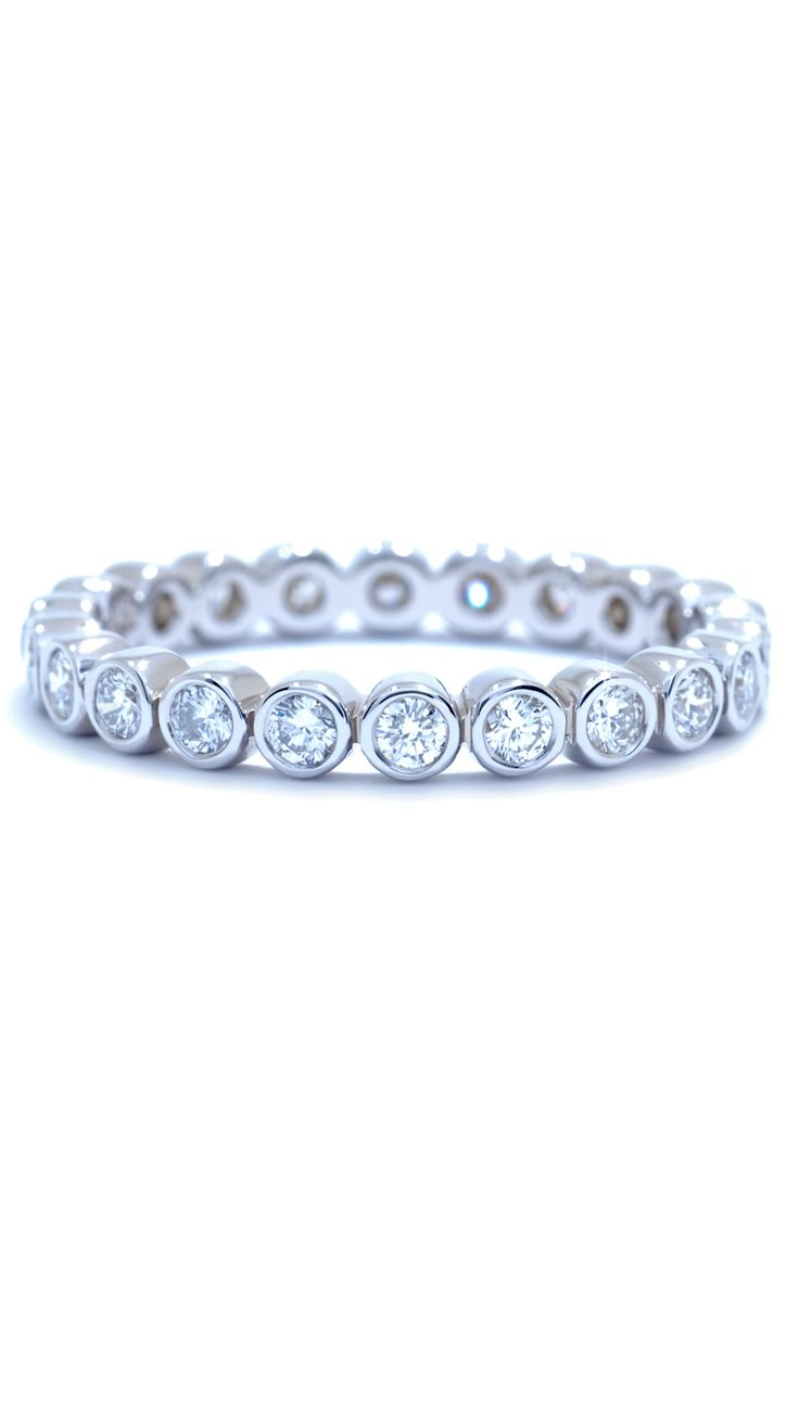 wedding anniversary rings wedding anniversary rings Diamond Wedding Band from the Milano collection by Catherine Ryder