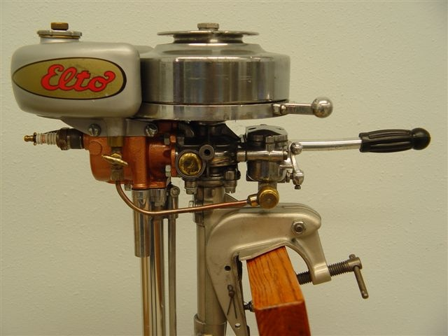 Evenrude Elto Single Plug Outboard Motors Small Boats Retro Robot