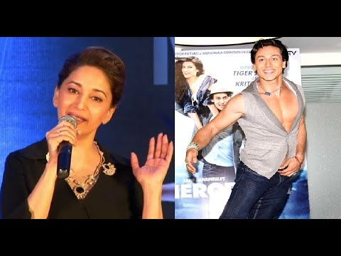 Madhuri Dixit - Tiger Shroff is a SUPERB dancer.