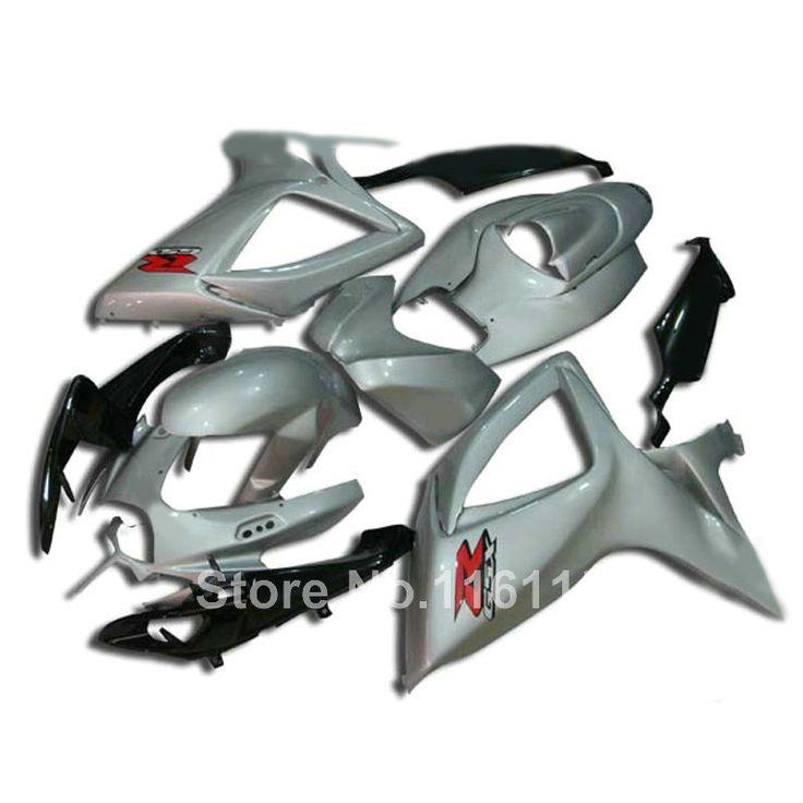 432.40$  Watch here - http://alin2m.worldwells.pw/go.php?t=32717436451 - Injection mold full fairing kit for SUZUKI GSXR 600/750 K6 K7 2006 2007 white black GSXR600 GSXR750 06 07 high grade fairings se 432.40$