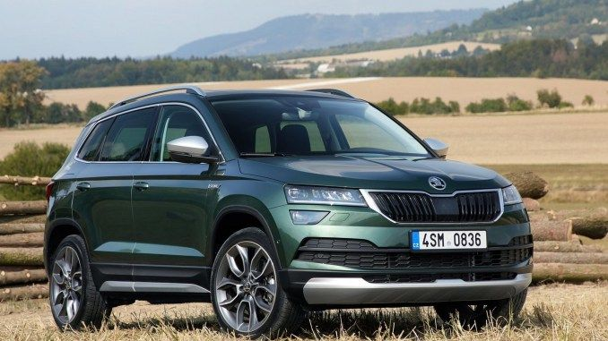 Skoda Karoq Scout 2019 Suv Compact Avec Une Ame Hors Route Suv